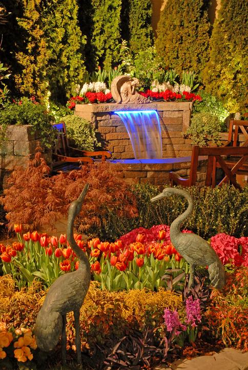 magnificent home and garden show nashville tn. Image from our lighting featured at previous show  ECON Club of Nashville Charities Outdoor Lighting