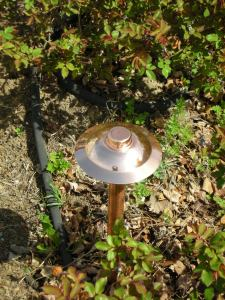 Copper Path Light by Outdoor Lighting Perspectives