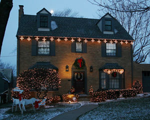 Christmas Lighting by Outdoor Lighting Perspectives