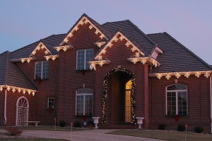 LED Outdoor Christmas lights, Nashville
