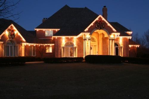 Outdoor holiday lighting Nashville