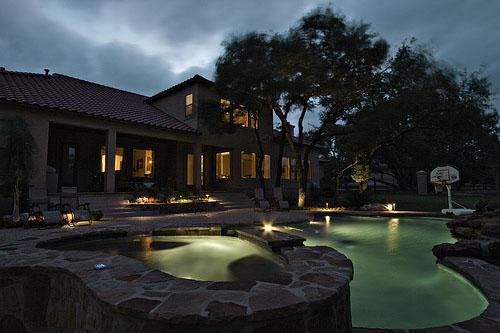 Nashville pool lighting