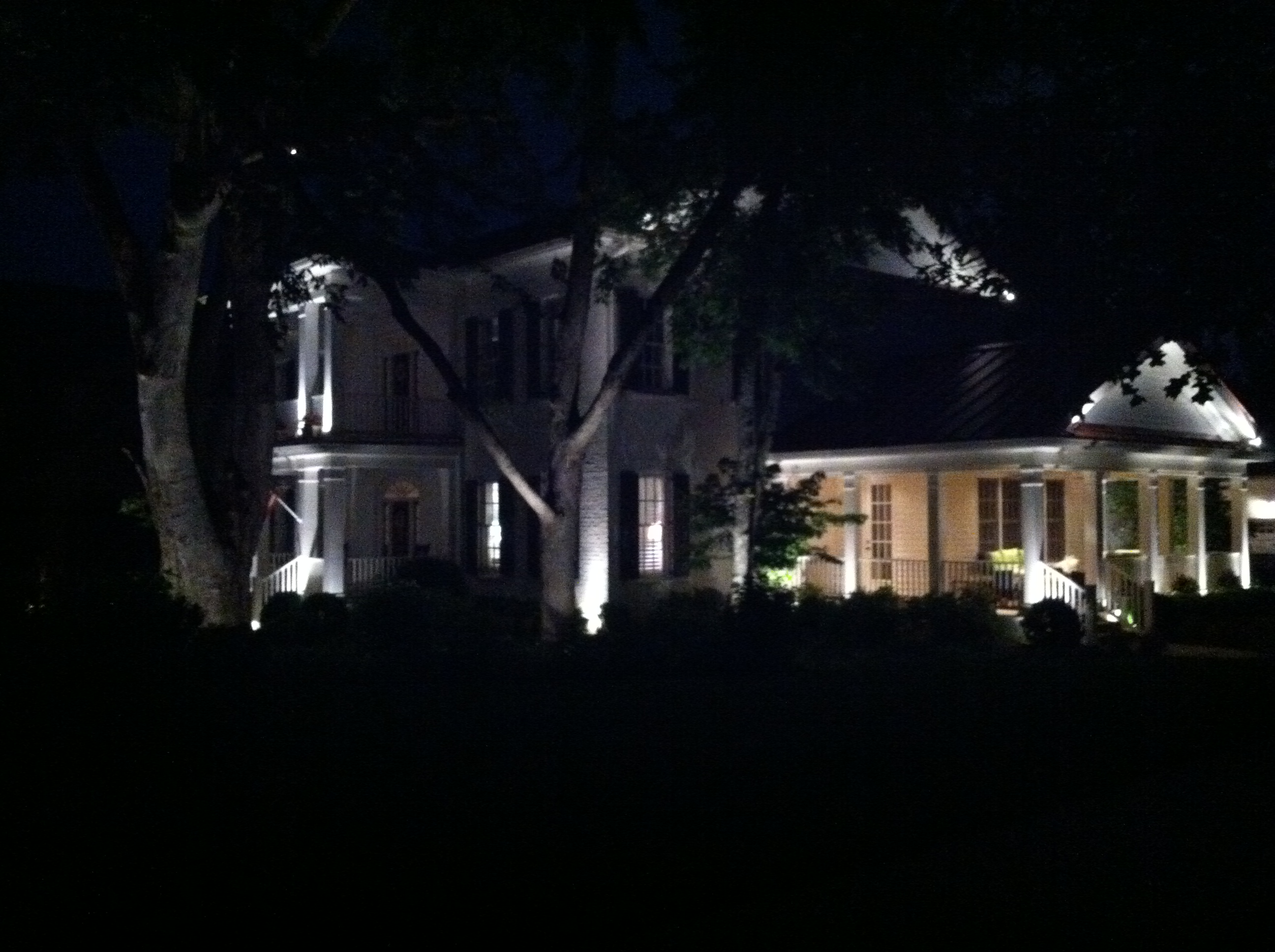 Architectural Breaks | Nashville Outdoor Lighting Perspectives