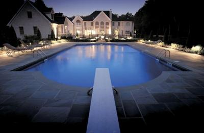 Exquisitely appointed pool lighting