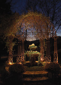 Nashville Landscape Lighting Gazebo