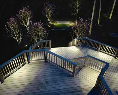 Nashville deck lighting