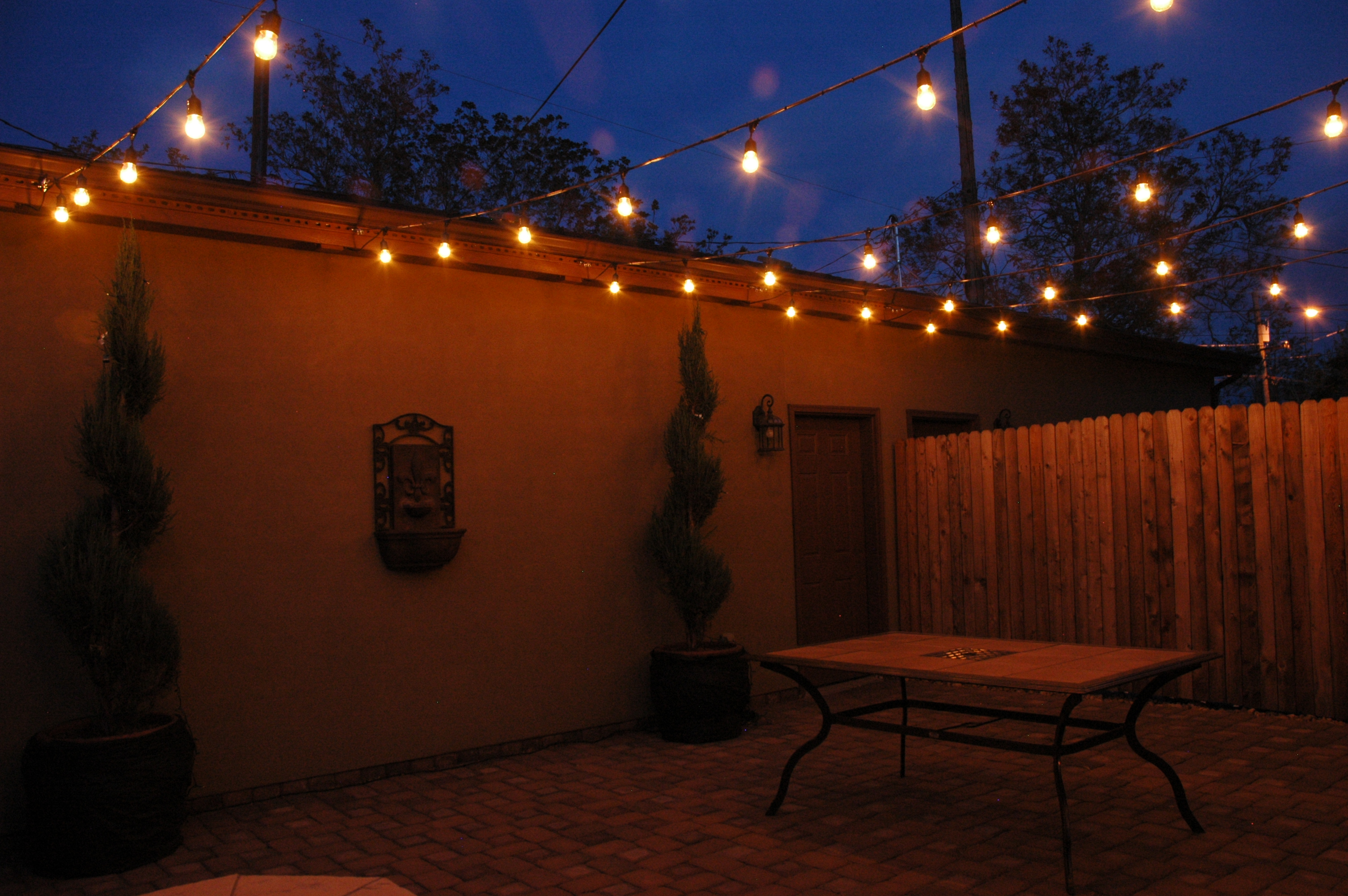 Orb or pendant outdoor lighting nashville outdoor lighting courtyard festival lighting mozeypictures Image collections