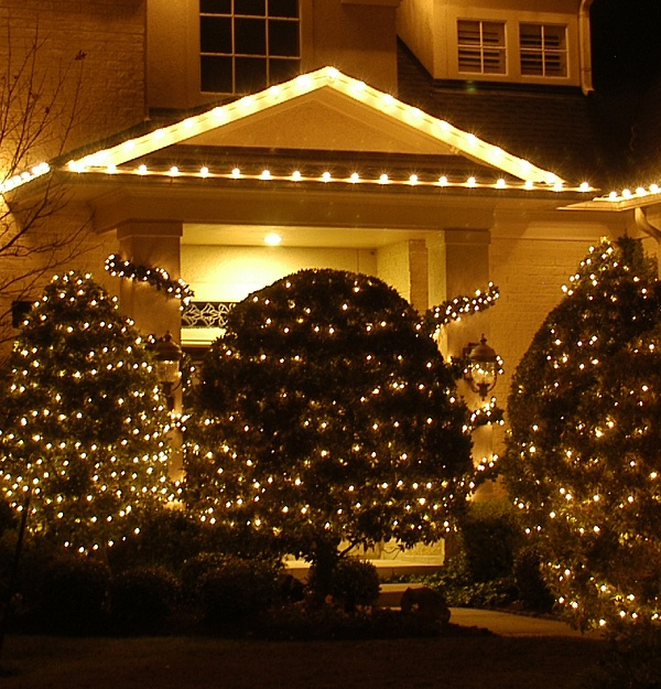 Nashville TN outdoor Christmas lights lighted trees and garlands & Nashville Christmas outdoor tree lighting | Nashville Outdoor ... azcodes.com