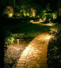 Nashville landscape lighting and path lighting