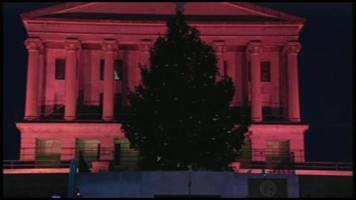 TN capital tree lighting