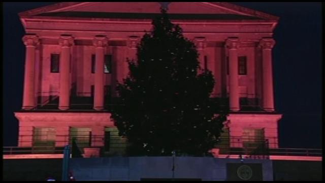 TN capital tree lighting