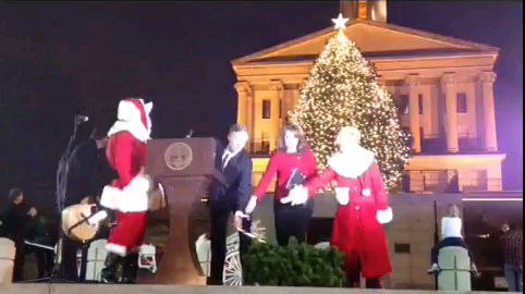 Capital holiday tree lighting