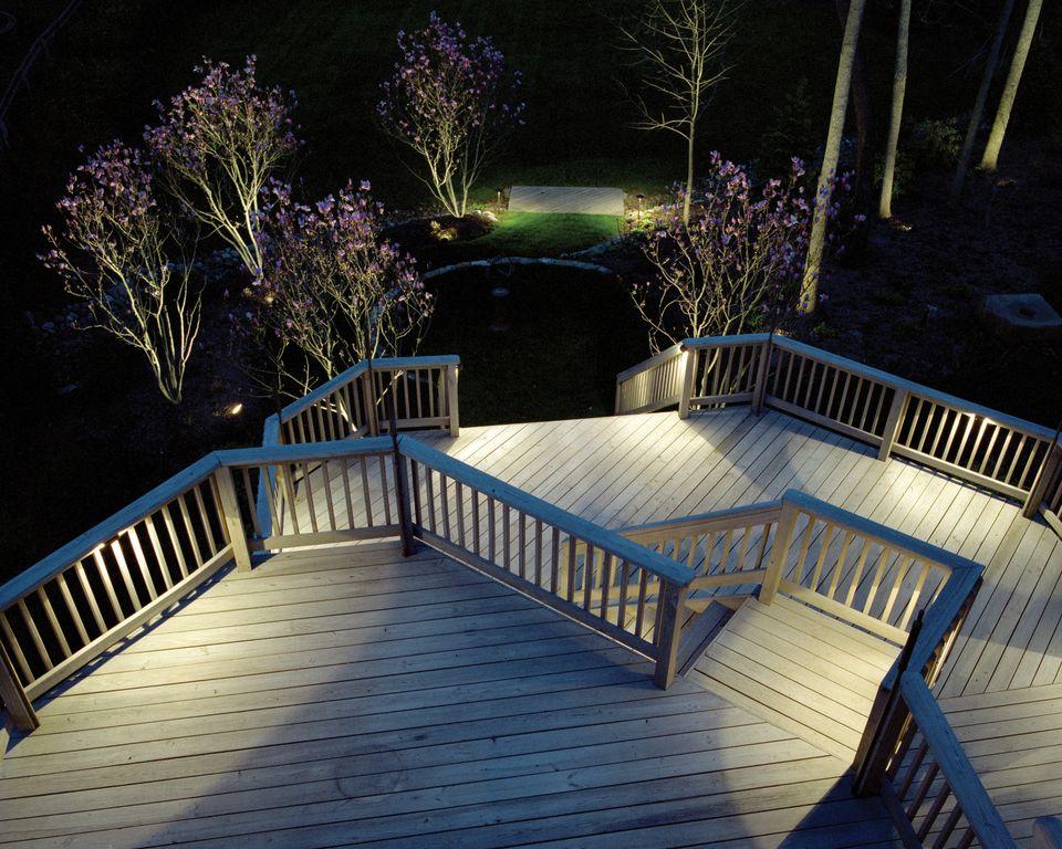 Outdoor Lighting Perspectives Deck And Patio Lighting
