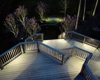 Outdoor Lighting Perspectives deck and patio lighting