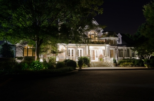Franklin TN LED residential outdoor lighting