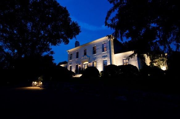 Architectural lighting on Belle Meade Blvd. by Outdoor Lighting Perspectives of Nashville