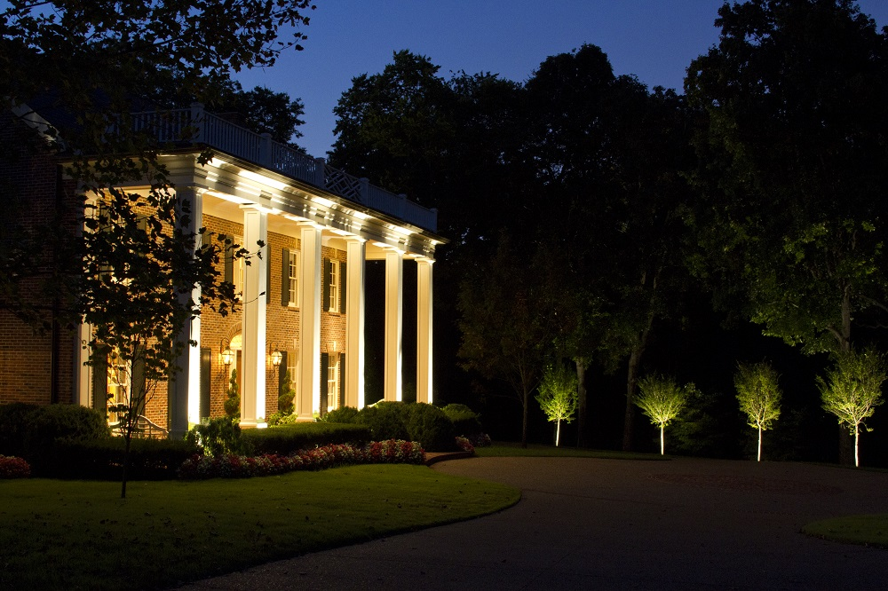 outdoor lighting perspective. Belle Meade Architectural LED Lighting And Tree By Outdoor Perspectives Of Nashville Perspective U