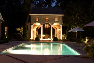Royal Oaks Belle Meade outdoor lighting by Outdoor Lighting Perspectives of Nashville