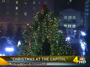 Christmas at the Capital 2013 courtesy of WSMV-TV Nashville