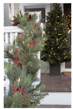 Outdoor Lighting Perspectives wreaths and garlands