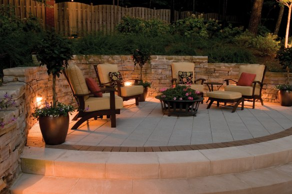 Patio outdoor lighting