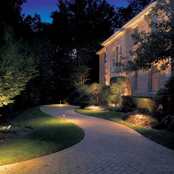 Beautiful landscaping shouldn't hide after dark.