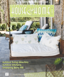 March/April cover for House & Home & Garden magazine.