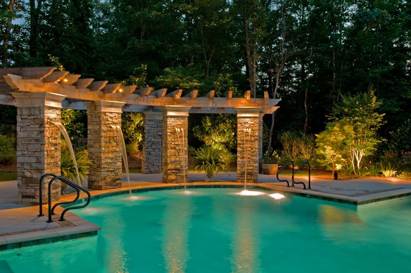 outdoor lighting pool lighting 2