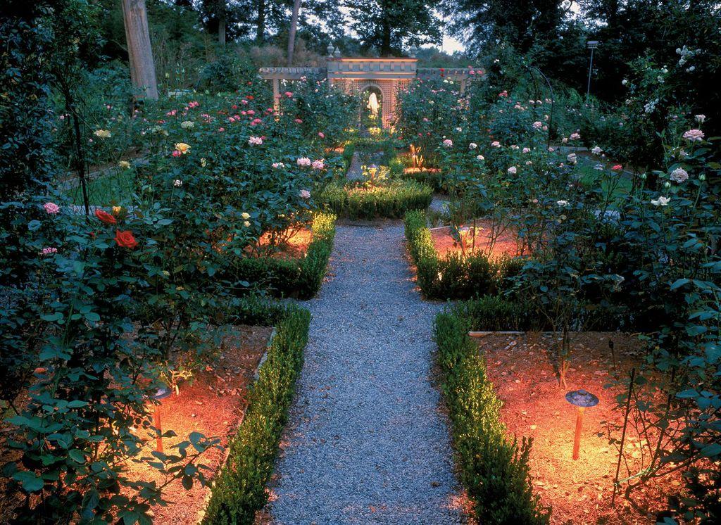 outdoor lighting perspectives rose garden lighting amazing garden lighting flower