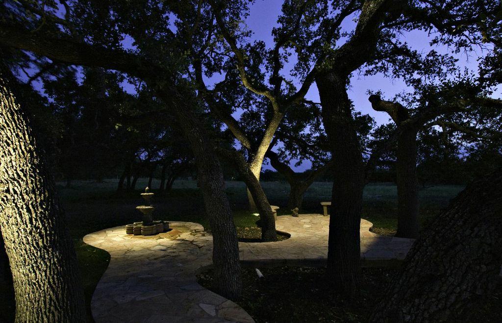 Residential outdoor lighting nashville outdoor lighting for Landscape tree lighting