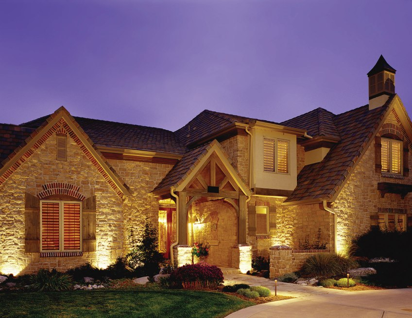 Beautiful outdoor lighting is timeless.