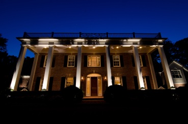 Belle Meade architectural and landscape lighting by Outdoor Lighting Perspectives of Nashville