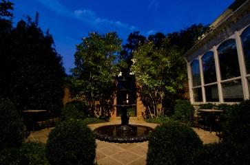 Belle Meade Blvd. outdoor lighting by Outdoor Lighting Perspectives of Nashville