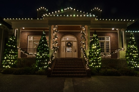 Elegant Nashville Holiday Lighting