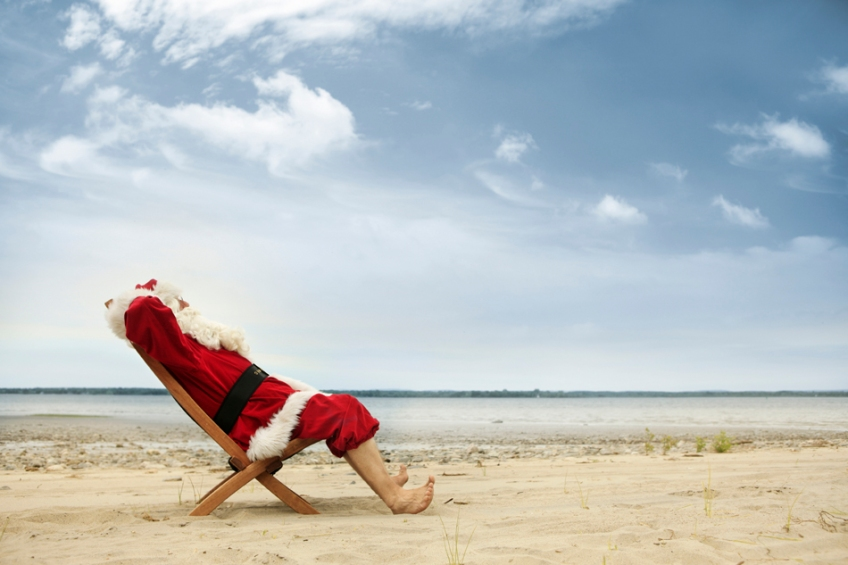 Santa is ready to start planning for the upcoming holiday season!
