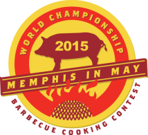 World Championship BBq Cooking contest at Memphis in May 2015