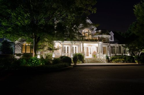 Nashville outdoor lighting