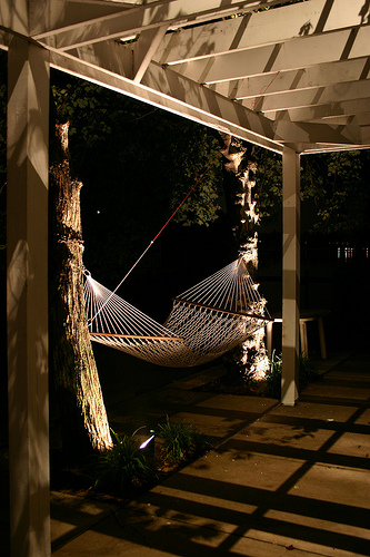 Outdoor Lighting Perspectives: Nashville Man Cave Lighting