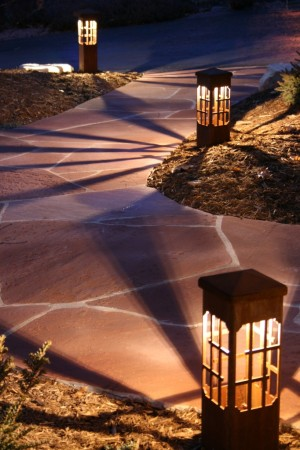 Nashville decorative outdoor lighting