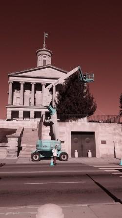 2015 Nashville capital tree is on the way