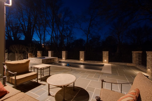 Franklin TN patio lighting designs