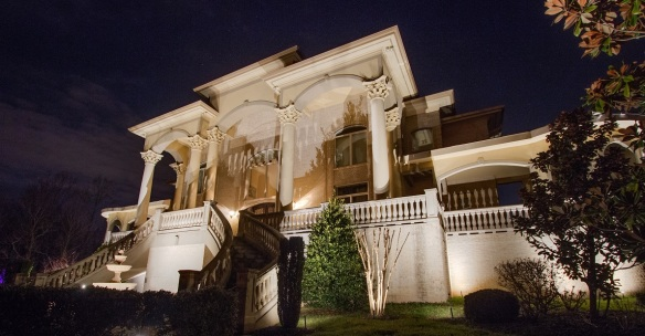 Brentwood TN Architectural and Facade Outdoor Lighting