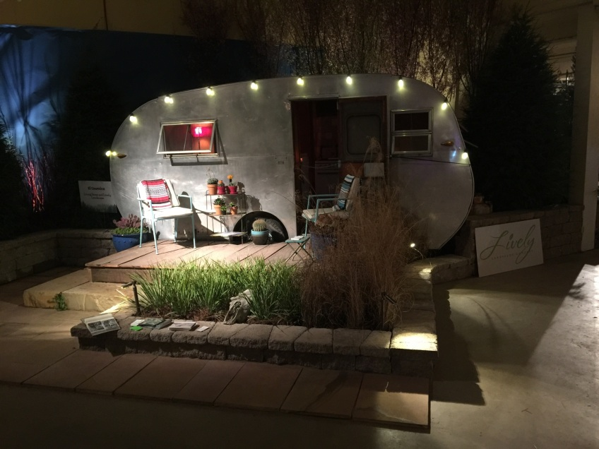 "One of this year's display that features our lighting. ""Glamping"" never looked so good!"