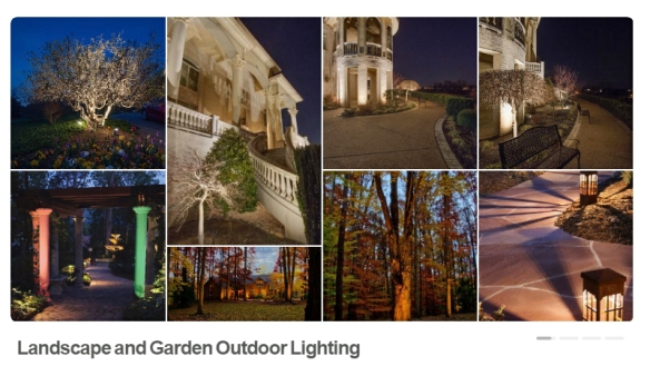 Nashville landscape lighting on Pinterest