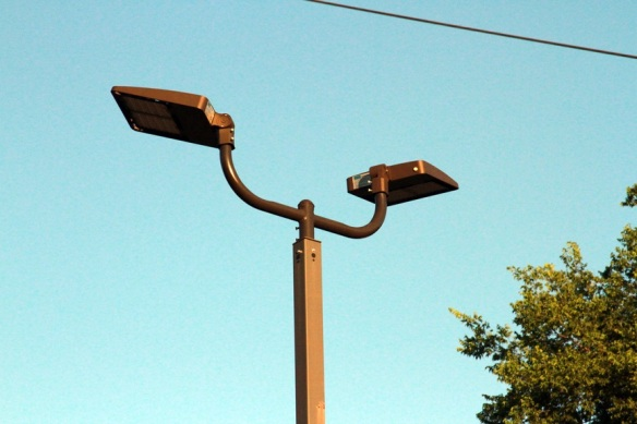 Nashville Commercial LED parking lot lighting at Bastion
