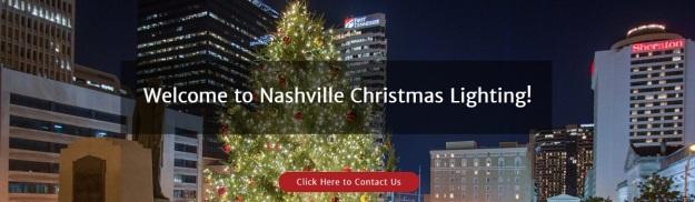 Nashville Christmas Lighting