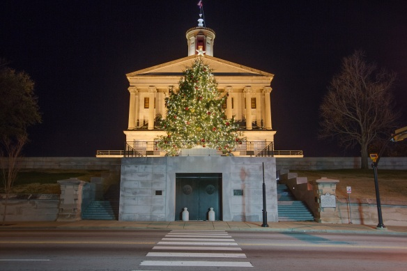 Nashville Lighting at the Capitol