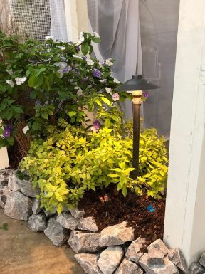 Nashville outdoor lighting featured at the lawn and garden show